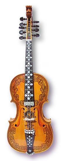 скрипка хардингфеле (хардангерфеле)