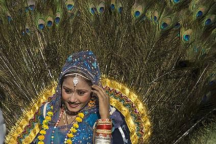 раджастанская танцовщица