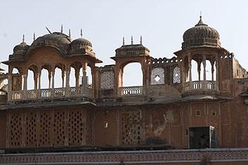 Крыши Джайпура