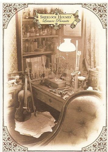 Музей Шерлока Холмса был бы невозможен без скрипки
