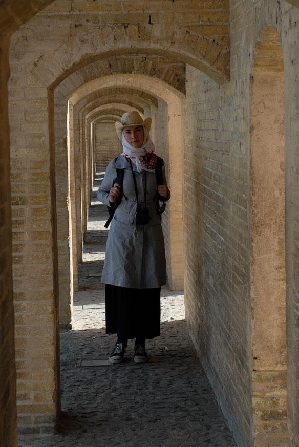 Исфахан, Золотой мост (Персия, 2008)