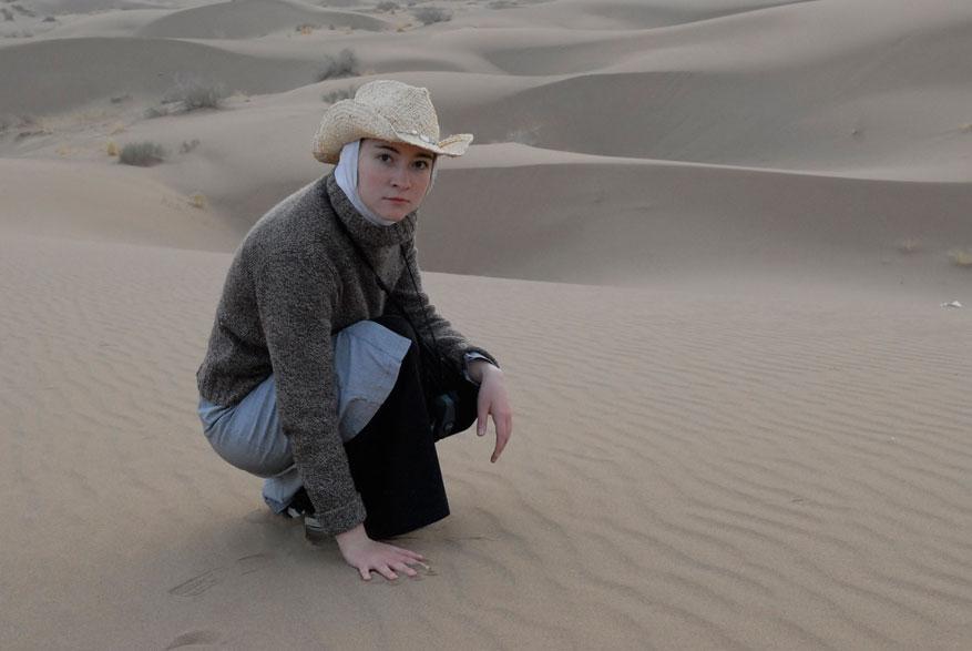 В пустыне возле Шираза? (Персия, 2008)